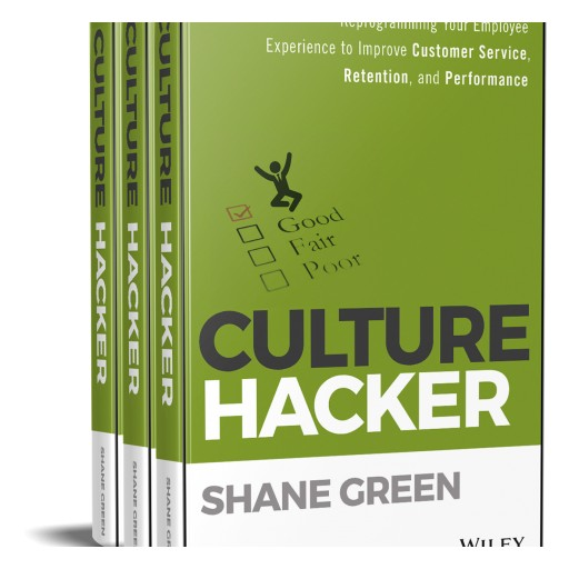Shane Green's Debut Book, 'Culture Hacker,' is Published and Receives Great Reviews